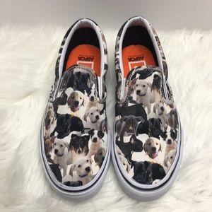 99c6cc1f2d6fc1 Vans Shoes - Vans ASPCA Limited Edition Dog Puppy Slip On